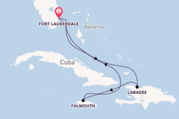 6 giorni verso Fort Lauderdale passando per Falmouth