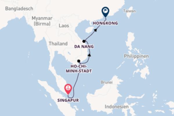 Entdecken Sie Ho-Chi-Minh-Stadt ab Singapur