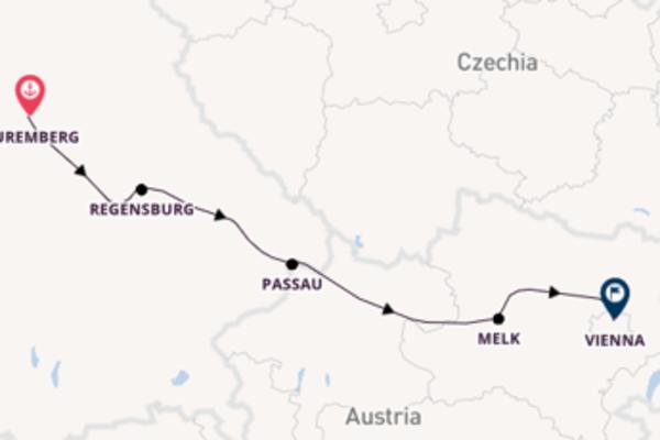 Sailing with Avalon Waterways from Nuremberg to Vienna
