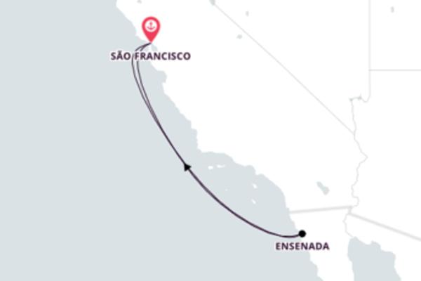 Conheça Ensenada no México saindo de São Francisco