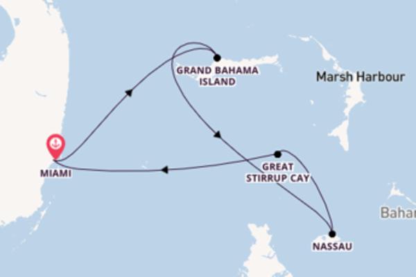 Von Miami über Grand Bahama Island in 5 Tagen