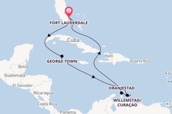 Romantica crociera verso Fort Lauderdale