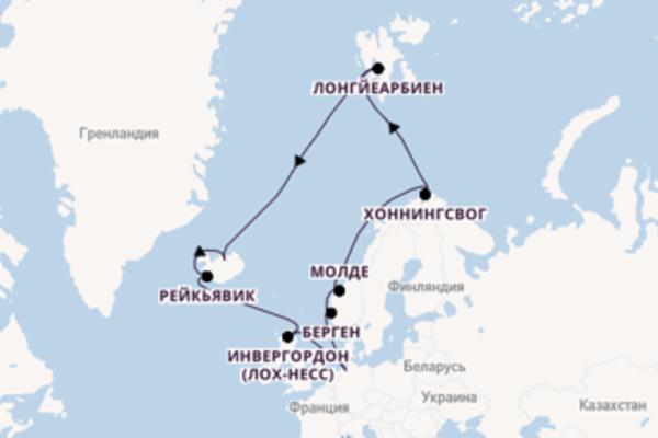 Удивительное путешествие на 18 дней с TUI Cruises
