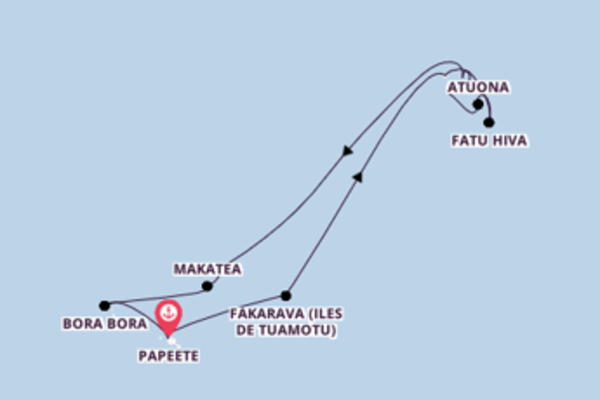 Douce balade de 13 jours pour découvrir Makatea