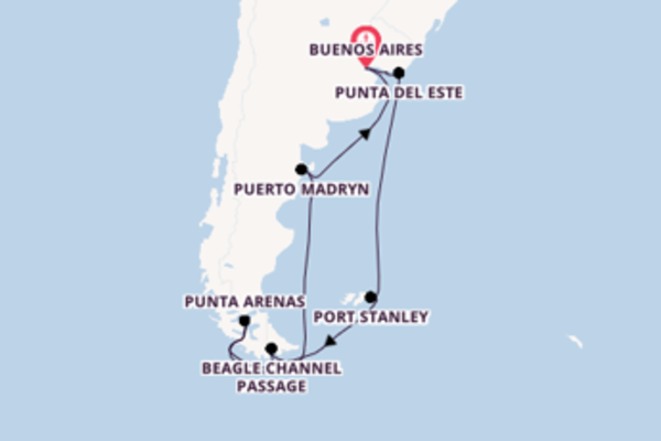 Sail from Buenos Aires with the Azamara Quest