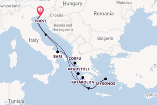 Cruise met Costa Cruises naar het magnifieke Venetië