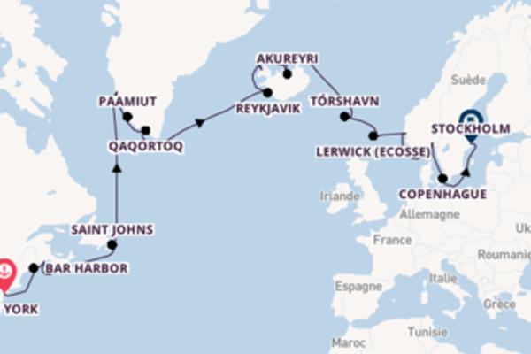 Douce croisière avec Oceania Cruises pendant 27 jours