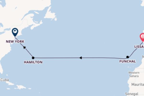 Cruise met Silversea naar het charmante New York