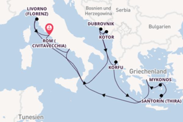 Atemberaubende Reise mit der Norwegian Getaway