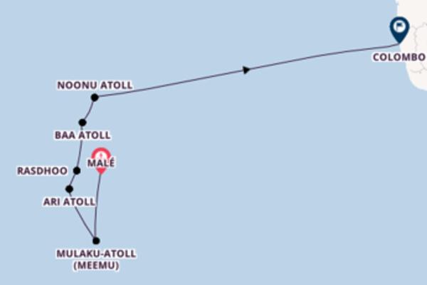 9 Tage Indischer Ozean Kreuzfahrt