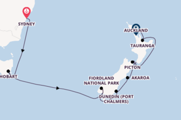 Journey with Princess Cruises from Sydney