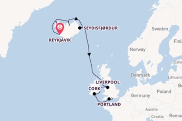 Cruise met Norwegian Cruise Line naar Isafjørdur