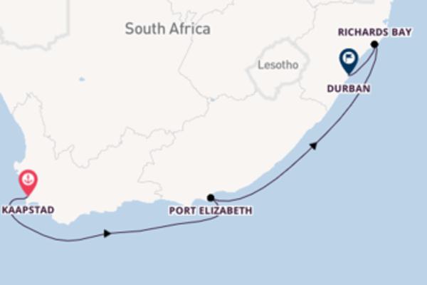 Bezoek het prachtige Port Elizabeth in 9 dagen