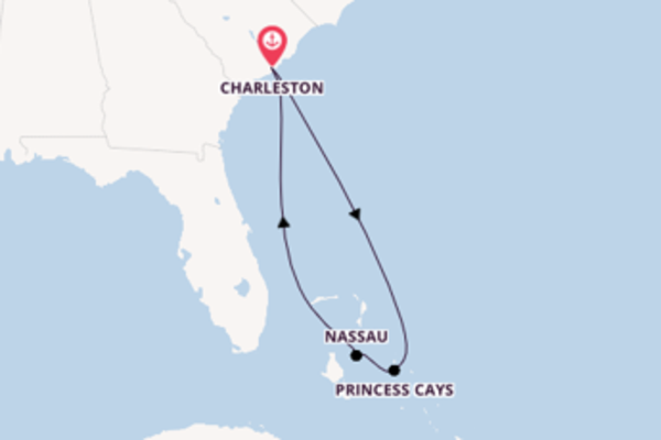 6 day journey from Charleston