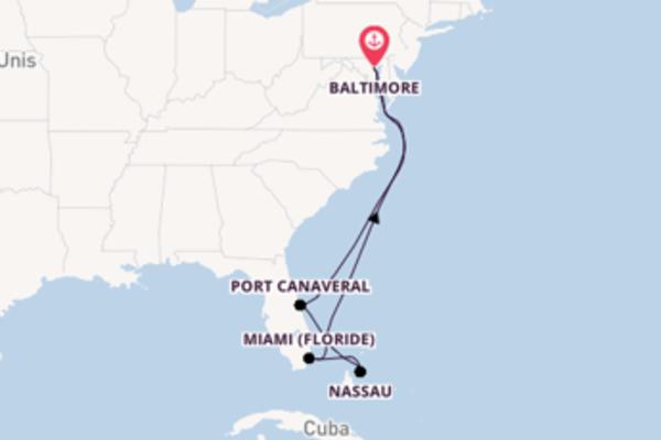 Idyllique balade de 9 jours au départ de Baltimore