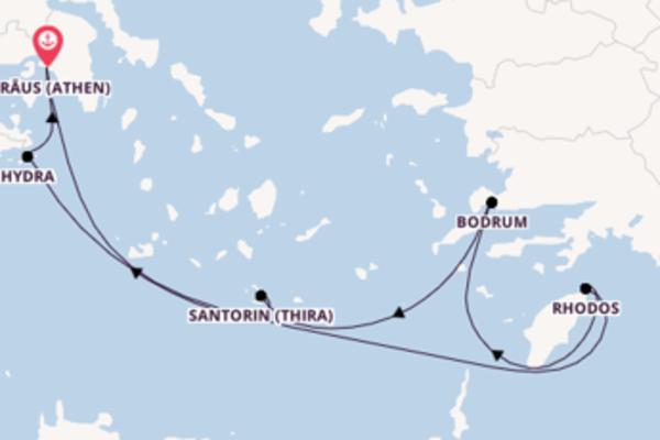 8 Tage Mittelmeer Reise