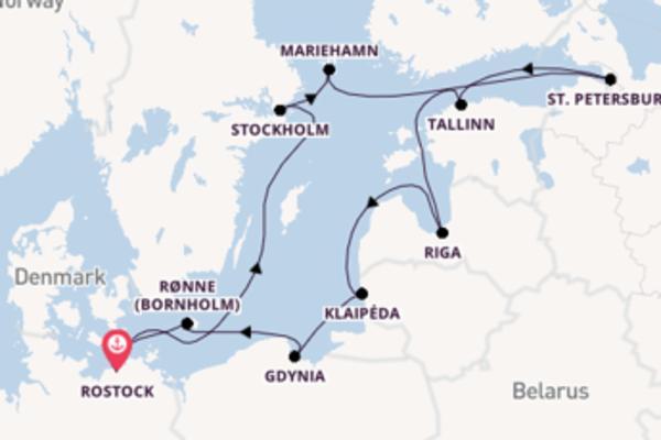 Cruise in 15 dagen naar Rostock met AIDA Cruises