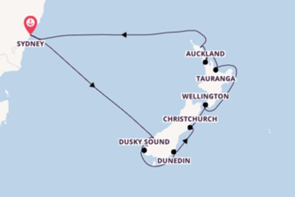 14-daagse reis aan boord van de Ovation of the Seas®