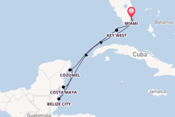 8 giorni di crociera da Miami