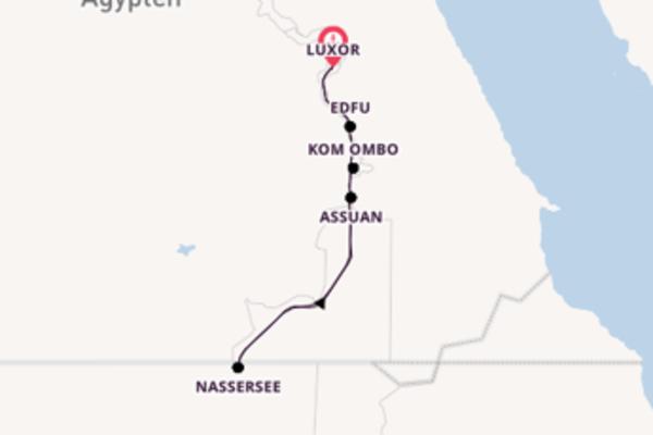 Erkunden Sie 8 Tage Assuan, Ägypten und Luxor, Ägypten