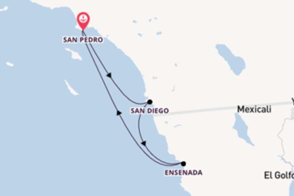 Los Angeles und San Diego erleben