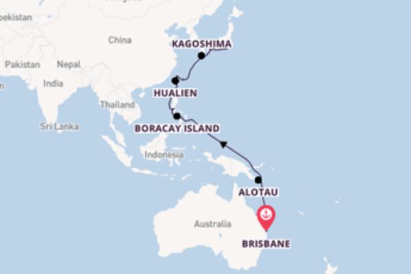 Australia & Asia from Brisbane to Tokyo