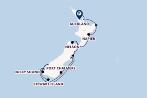 Breath-taking cruise from Christchurch with Crystal Cruises