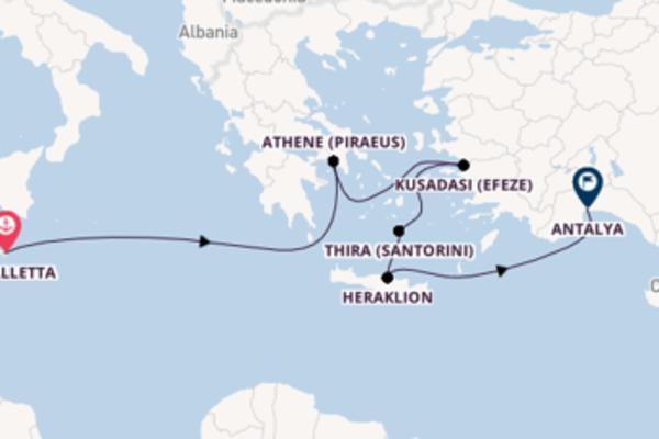 Ontdek de parels van Santorini