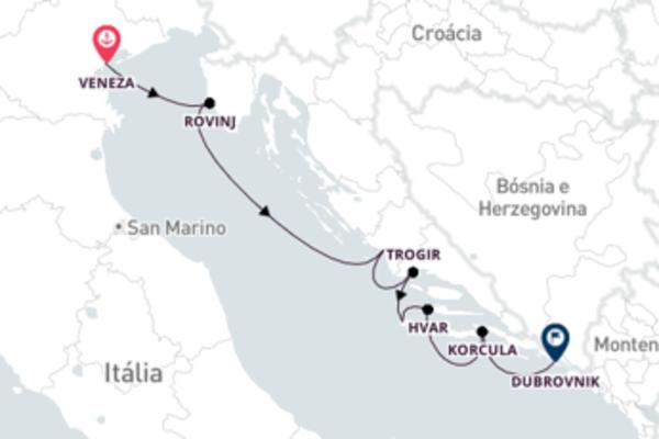 Conheça a Croácia a partir da Itália