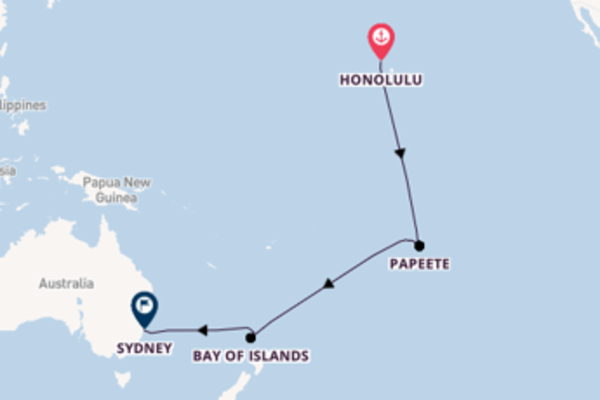 Cruise with Royal Caribbean from Honolulu