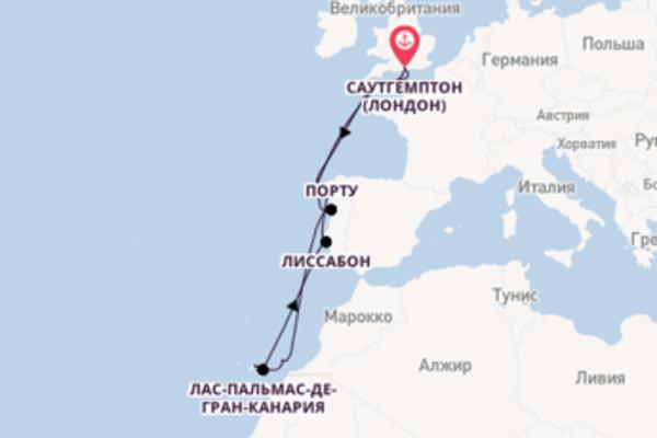 Сказочный вояж на 12 дней с Celebrity Cruises