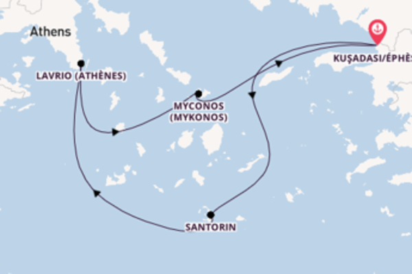 Divine croisière avec Celestyal Cruises pendant 4 jours