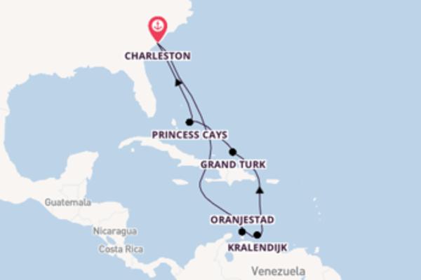 Maak een droomcruise naar Oranjestad