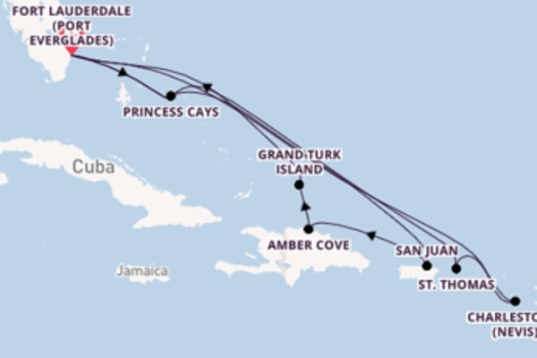 Trip with Princess Cruises from Fort Lauderdale (Port Everglades)