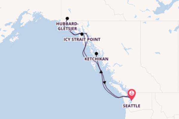 Aanschouw Icy Strait Point met Norwegian Cruise Line