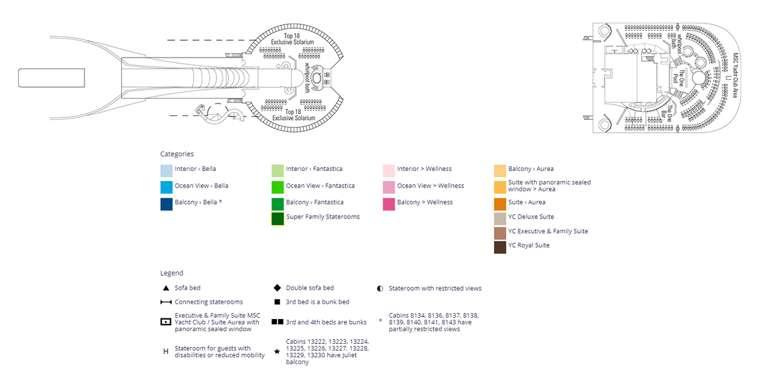 MSC Divina Deck 18 - Elios
