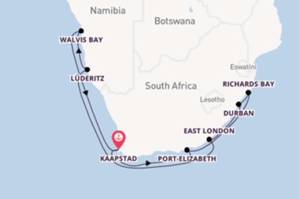 Bewonder het spectaculaire Durban