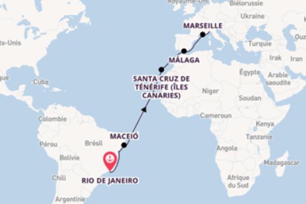 Passionante croisière vers Gênes via Santa Cruz de Ténérife (Îles Canaries)