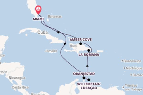 Lasciati affascinare da Amber Cove arrivando a Miami