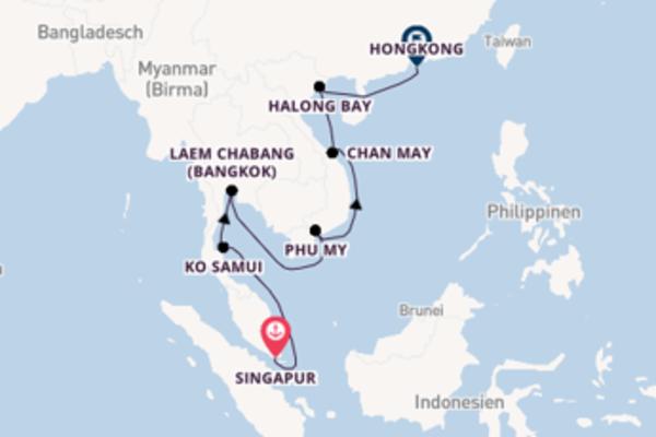 15 Tage Asien Reise