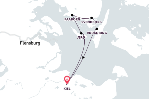 Mit dem Segelschiff & Rad Dänemark erkunden