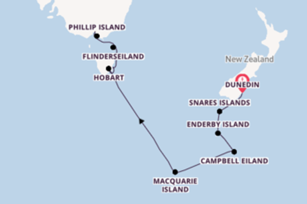 Bewonder het adembenemende Macquarie Island