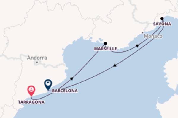 Bewonder Tarragona, Marseille en Barcelona