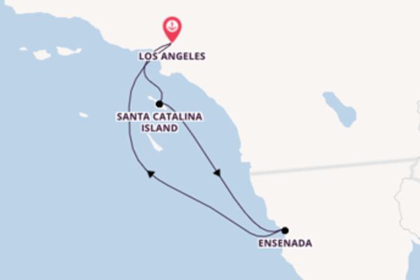 5-daagse reis naar Los Angeles