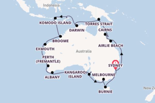 Australia Circumnavigation
