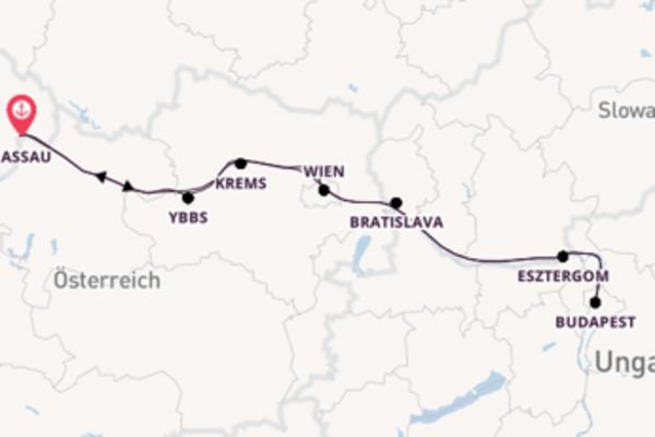 Kulturschätze der Donau