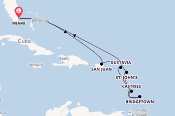 Relaxante passeio de 13 dias com a Regent Seven Seas Cruises