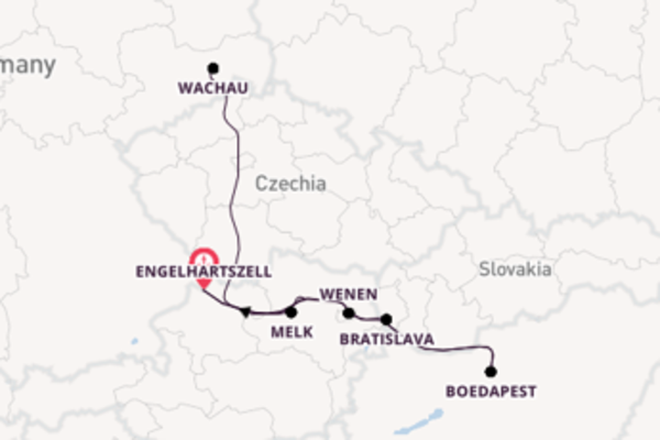 6-daagse reis naar Engelhartszell