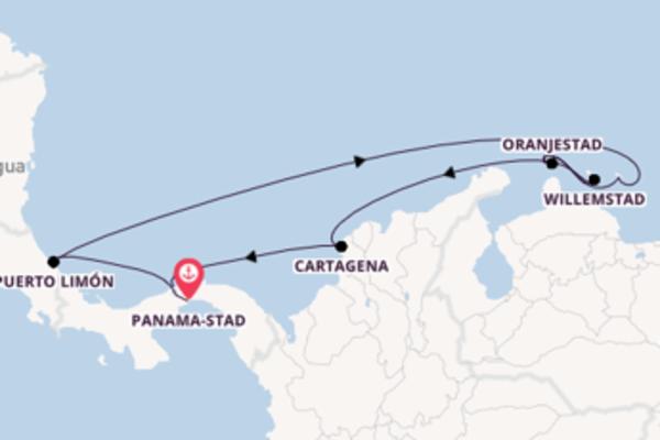 Cruise in 10 dagen naar Colón met Norwegian Cruise Line