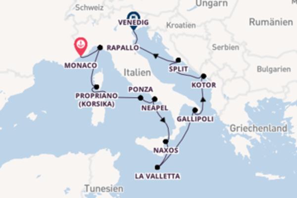 Mediterraner Zauber zwischen Côte d'Azur und Adria